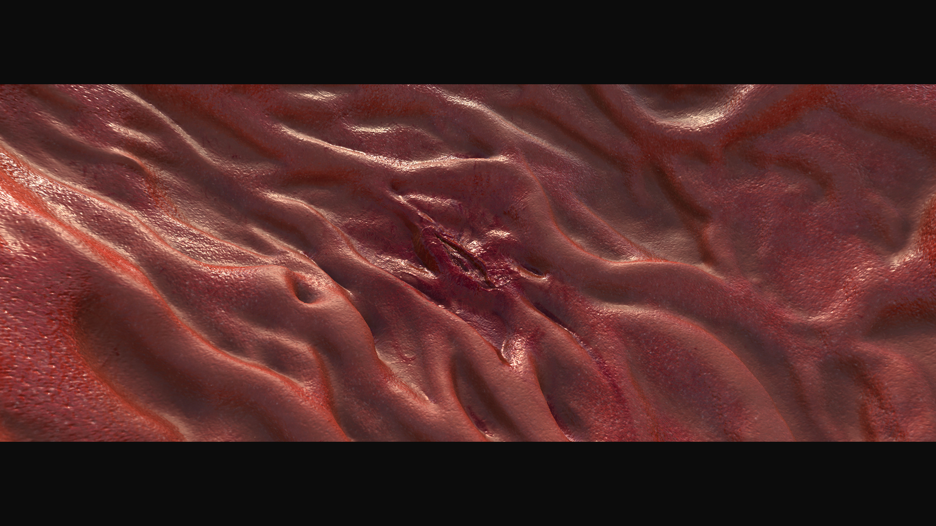 Mediglobe Gewebe modeling, Texturierung und Animation für einen Werbefilm