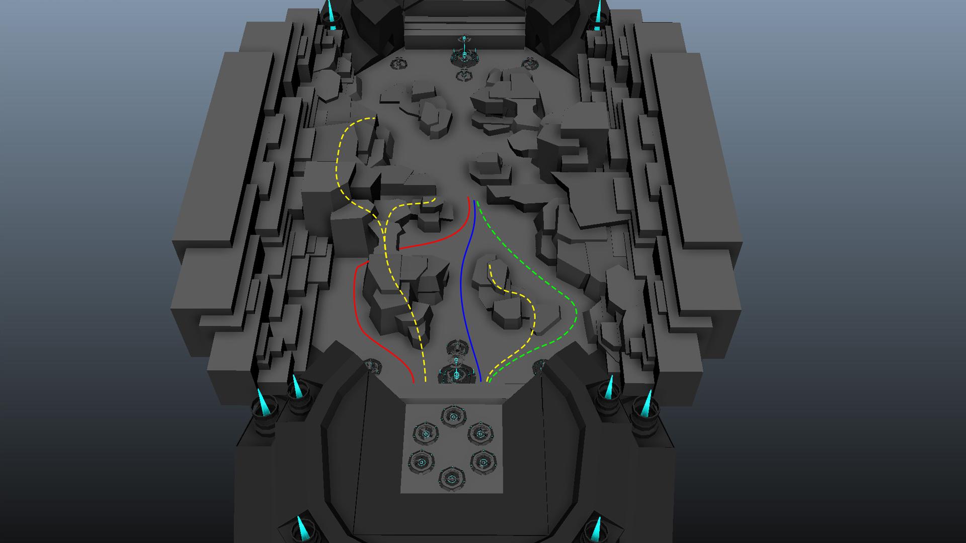 Bound Tactics early Level Design prototype